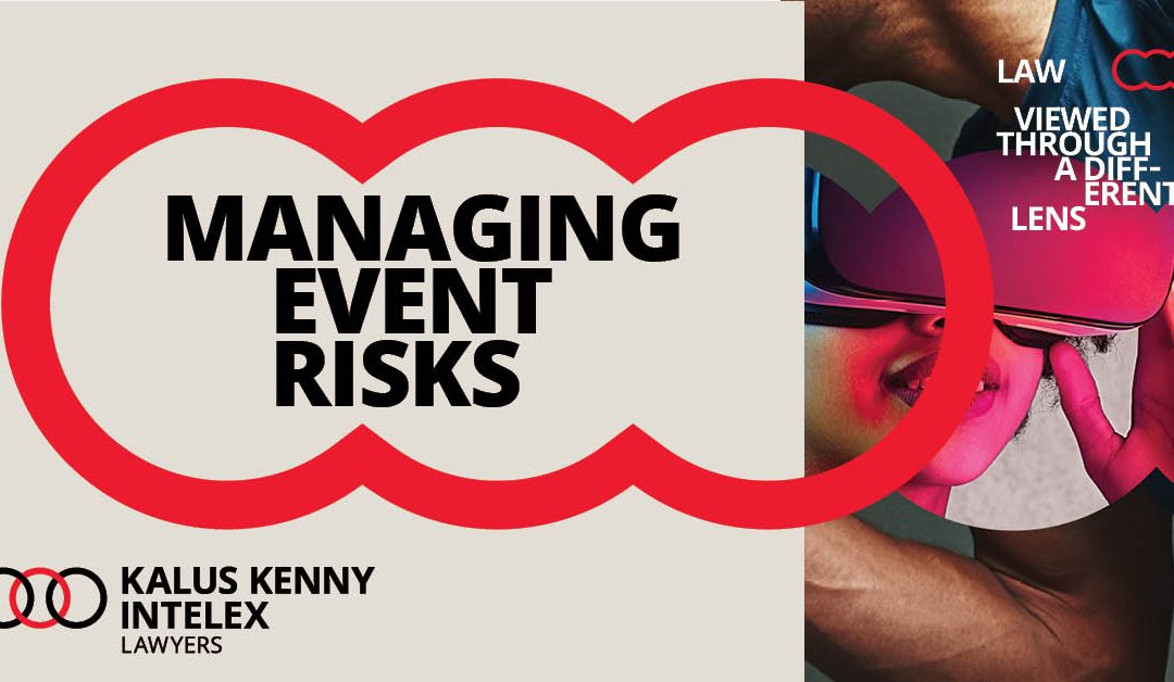 Managing event risks