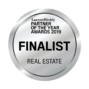 2019 Partner of the Year Real Estate – Finalist